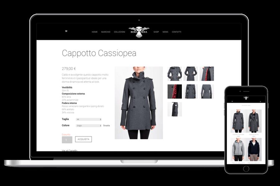 creazione ecommerce abbigliamento