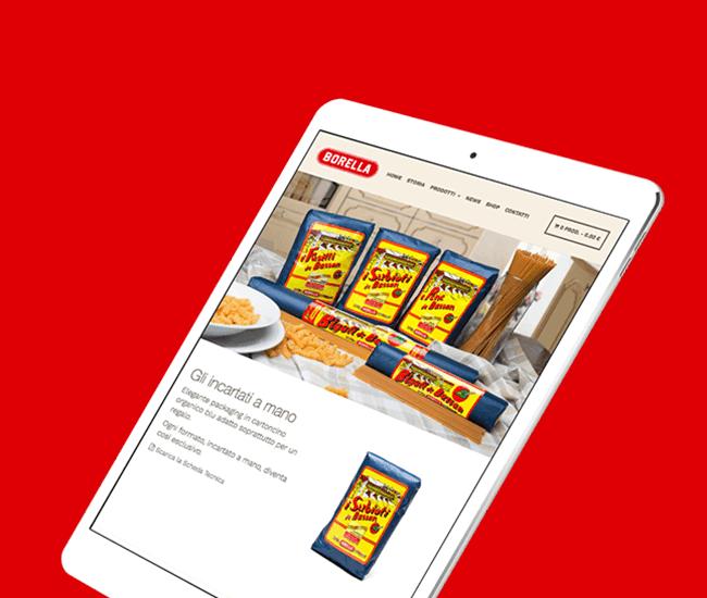 design ecommerce settore alimentare
