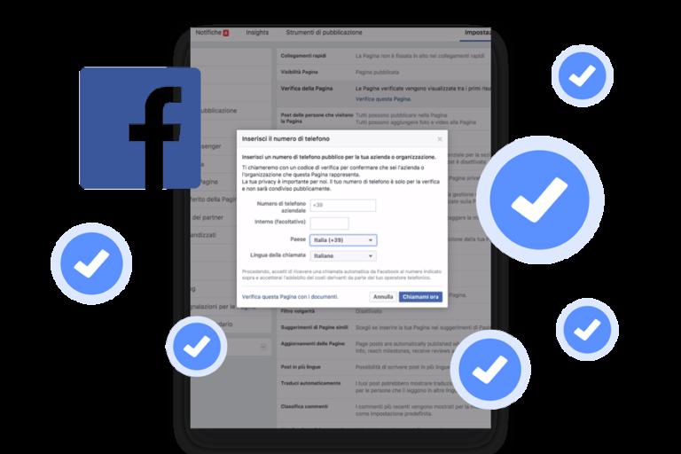 facebook verifica pagina azienda panese think digital