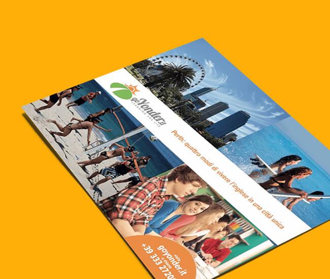 grafica e stampa flyer pieghevoli e brochure