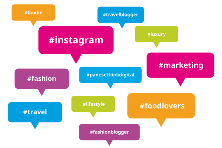 hashtag perfetti su instagram panese think digital
