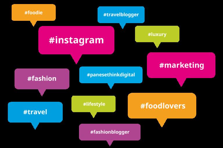 hashtag perfetti su instagram panese think digital