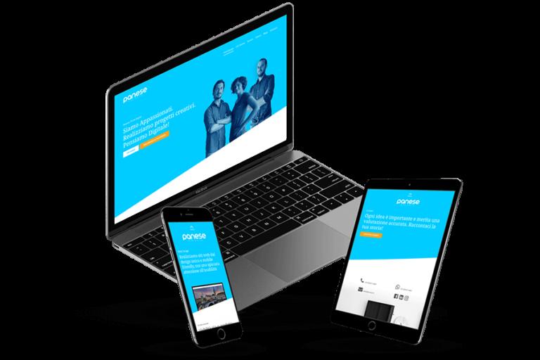 Panese Think Digital sito web