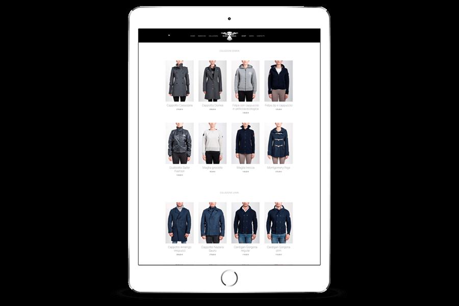 realizzazione ecommerce fashion