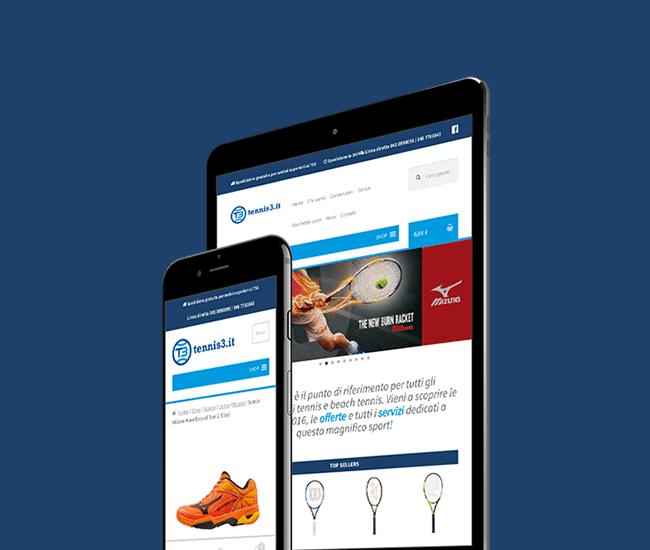 realizzazione ecommerce per mobile e tablet