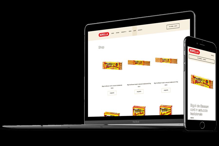 realizzazione ecommerce prodotti alimentari