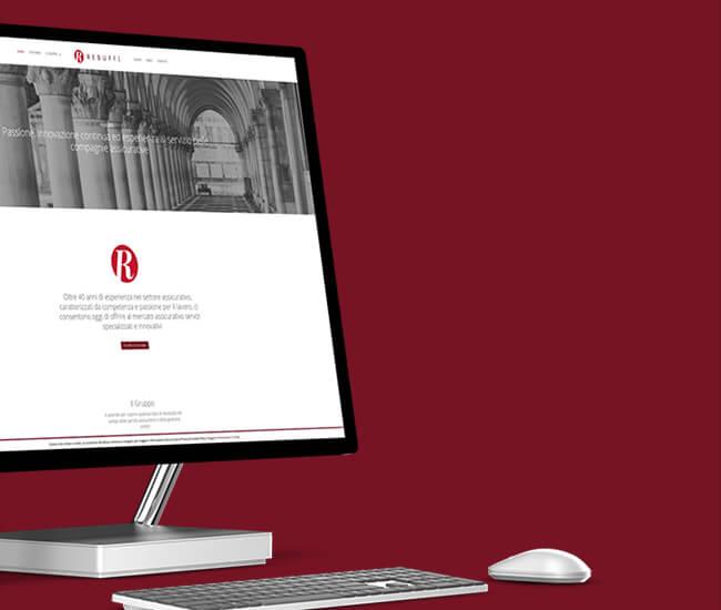 realizzazione sito web aziendale perizie panese think digital