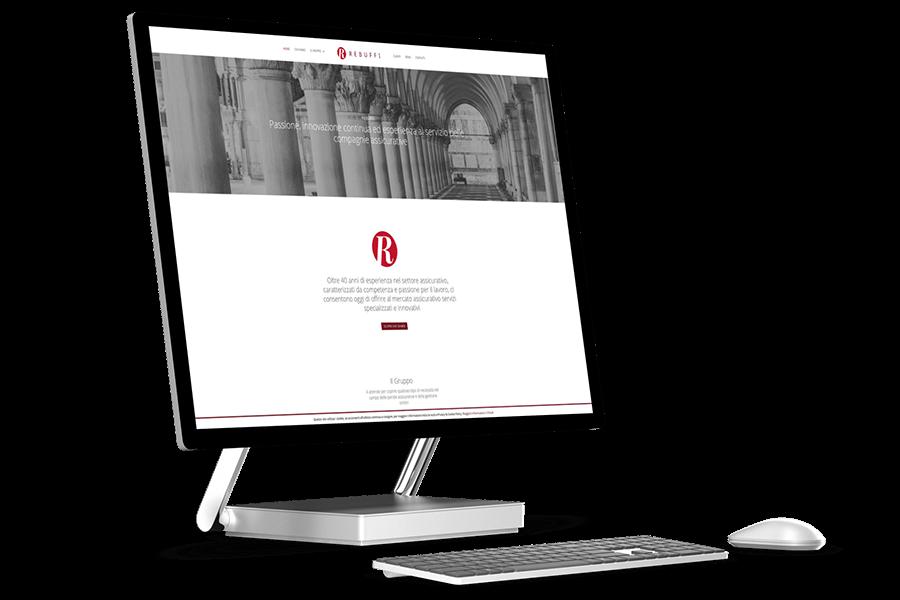 realizzazione sito web aziendale perizie