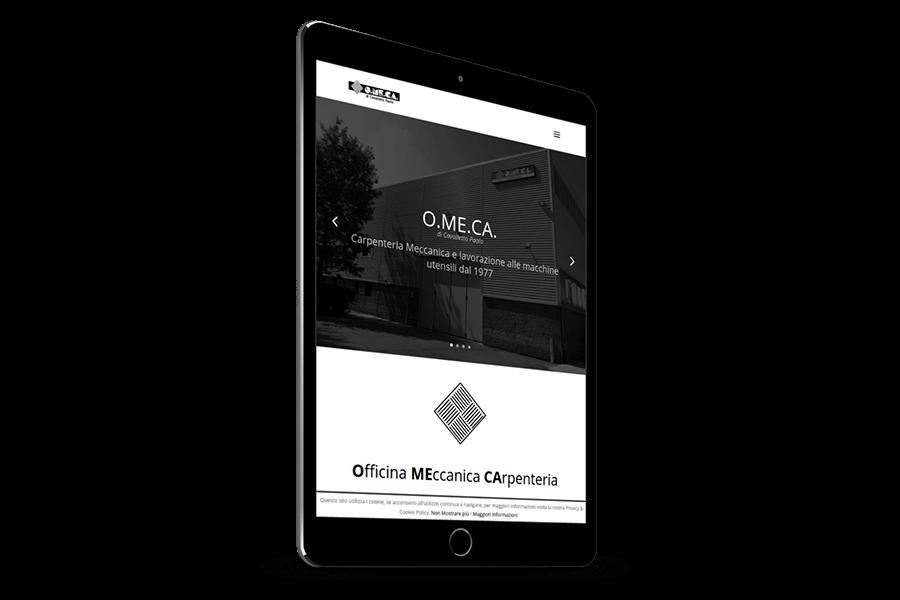 realizzazione sito web industria