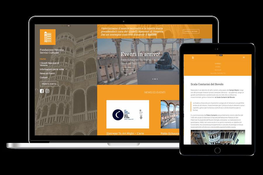 realizzazione sito web museo