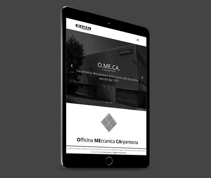 realizzazione sito web officina meccanica panese think digital